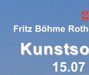 Plakat Kunstsommer Email